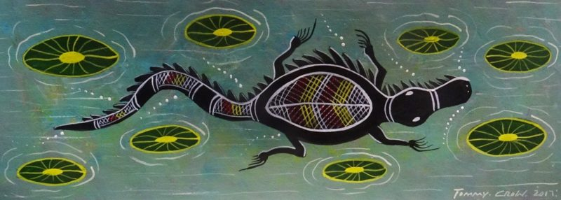 Tommy Crow Aboriginal Art