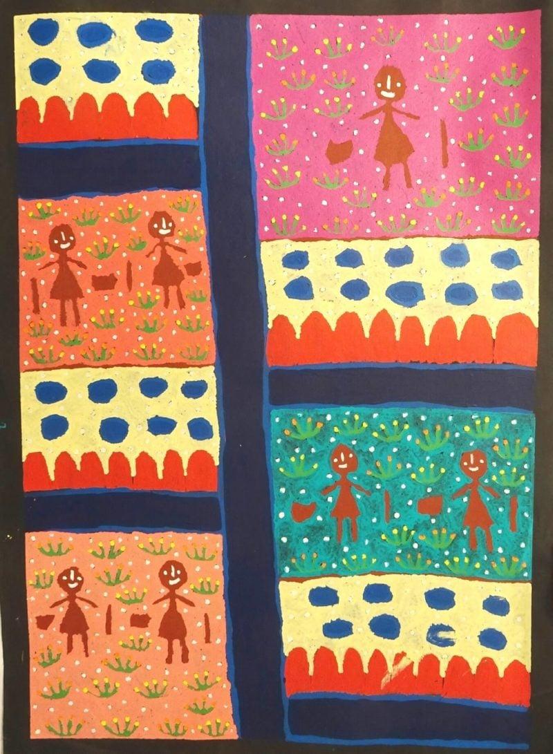 Molly Jugadai Napaltjarri Aboriginal Art