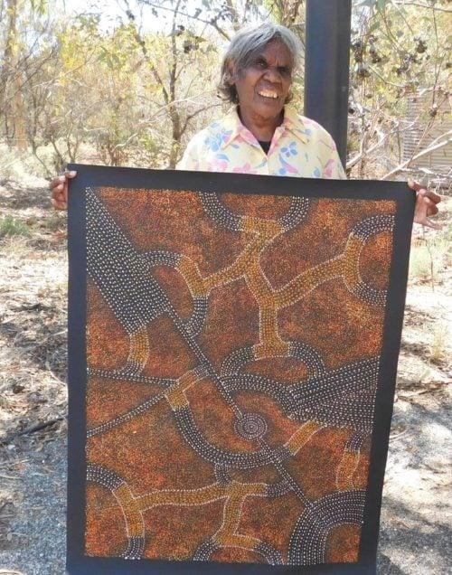 Gracie Morton Kngwarreye Aboriginal Art
