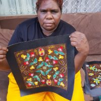 Tanya Nangala Price Aboriginal Art