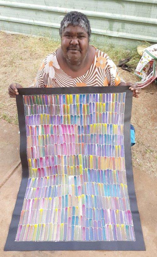 Jeannie Mills Petyarre Aboriginal Art