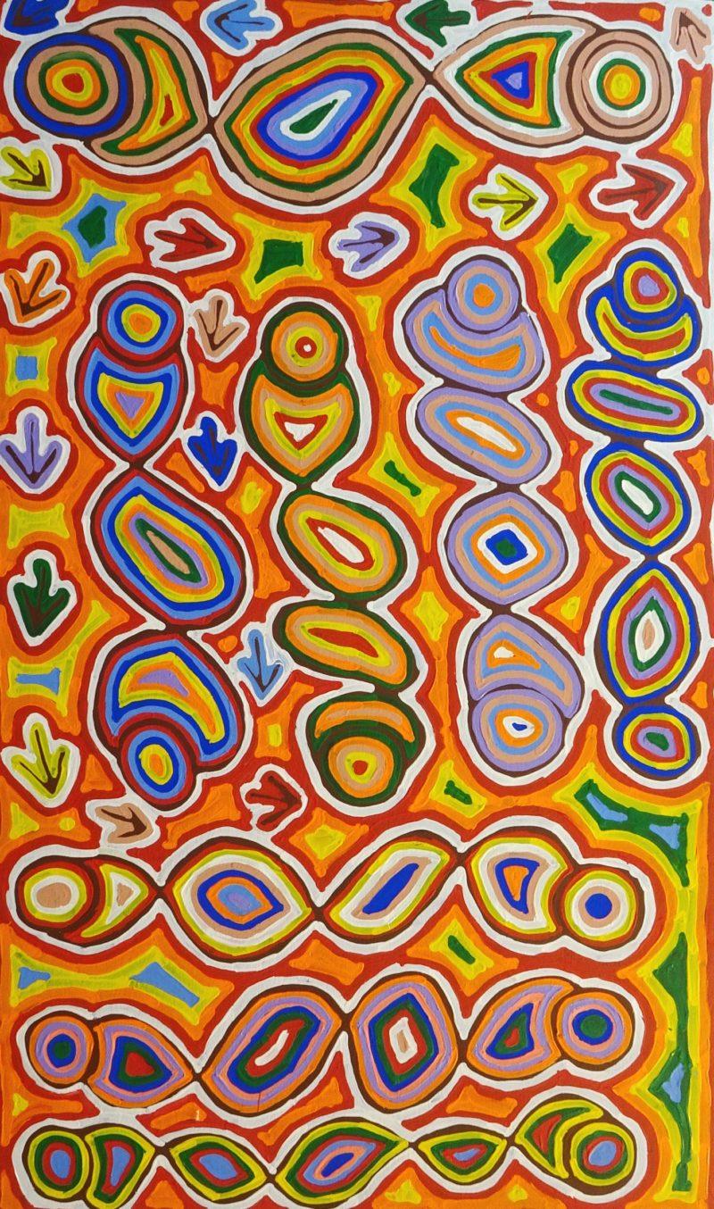 Felicity Nampijinpa Robertson Aboriginal Art