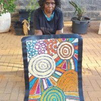 Debra Young Nakamarra Aboriginal Art
