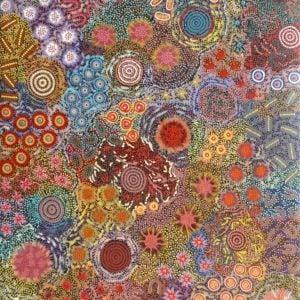 Gabriella and Michelle Possum Nungurrayi Aboriginal Art