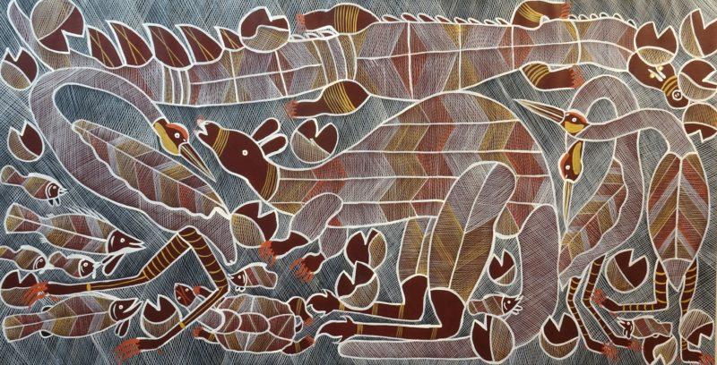 Eddie Blitner Aboriginal Art
