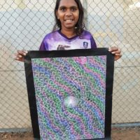 Nicole Jones Kngwarreye Aboriginal Art