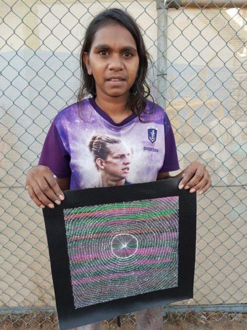 Nicole Jones Kngwarreye Aboriginal Art
