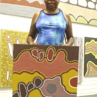 June Peters Aboriginal Art