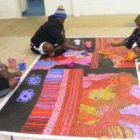 Woods Collaboration Aboriginal Art