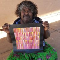 Jeannie Mills Pwerle Aboriginal Art