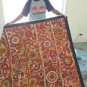 Betty Mbitjana Aboriginal Artist