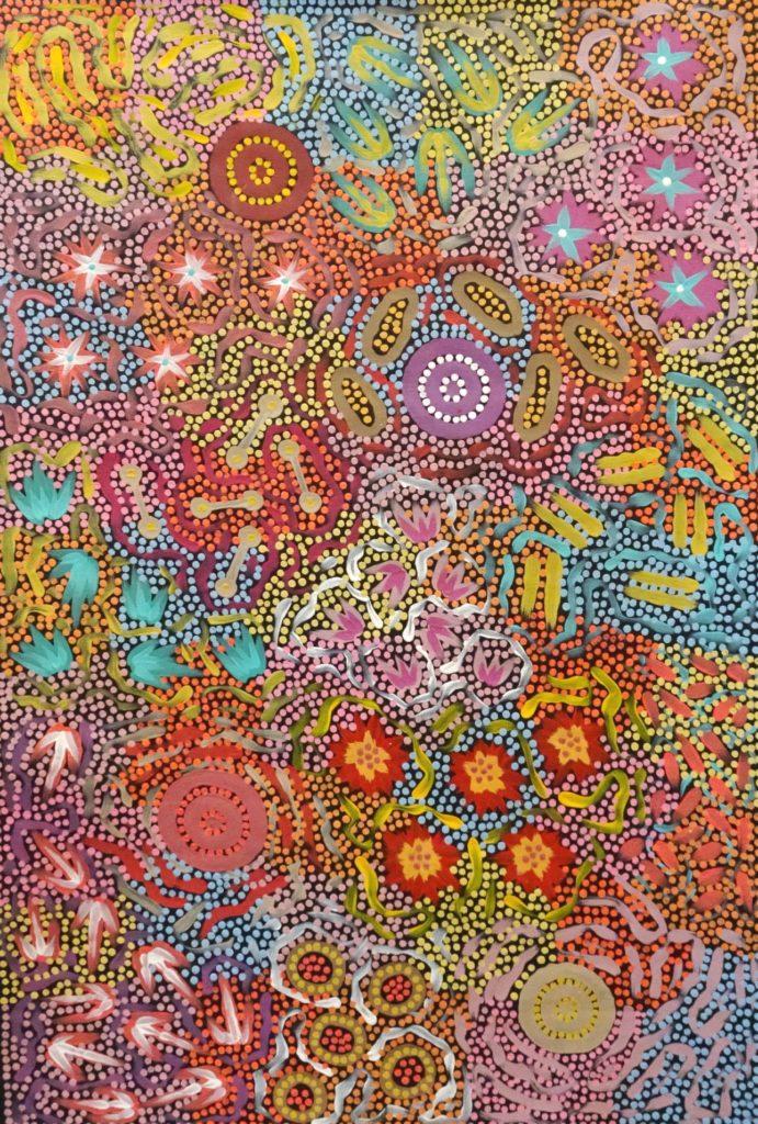 Azeza Possum Aboriginal Art