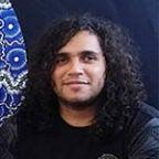 Aboriginal artist Davinder Hart