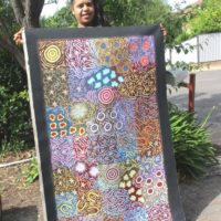 Chelsea Possum Aboriginal Art