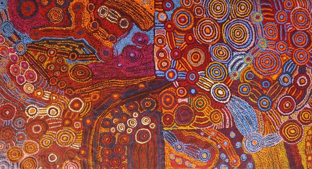 Elaine Woods and Family Aboriginal Art
