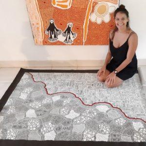 Sarrita King and Tarisse King Aboriginal Art
