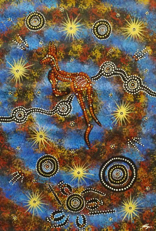 Justin Ronberg Aboriginal Art