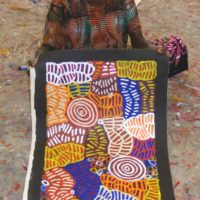 Betty Mbitjana Aboriginal Art