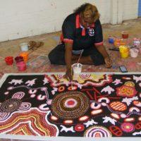Samantha Daniels Napaltjarri Aboriginal Art