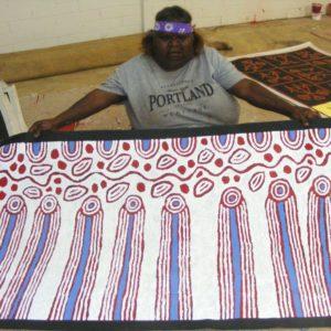 Glenys Gibson Napaltjarri Aboriginal Art