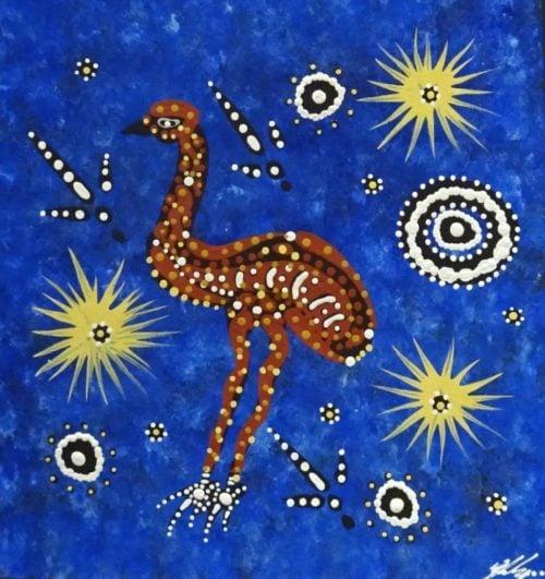 Justin Ronberg Japarula Aboriginal Art