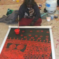 Yinarupa Nangala Aboriginal Art