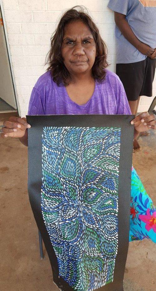 Roseanne Morton Petyarre Aboriginal Art