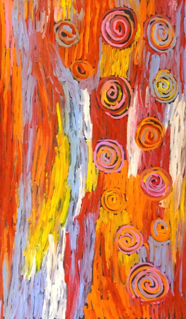 Bob Gibson Tjungurrayi Aboriginal Art