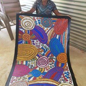 Debra Young Nakamarra Women's Ceremony (9E) artist