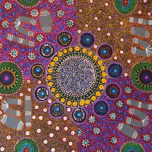 Cindy Wallace Nungurrayi Aboriginal Art