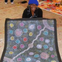 Gracie Morton Pwerle Aboriginal Art