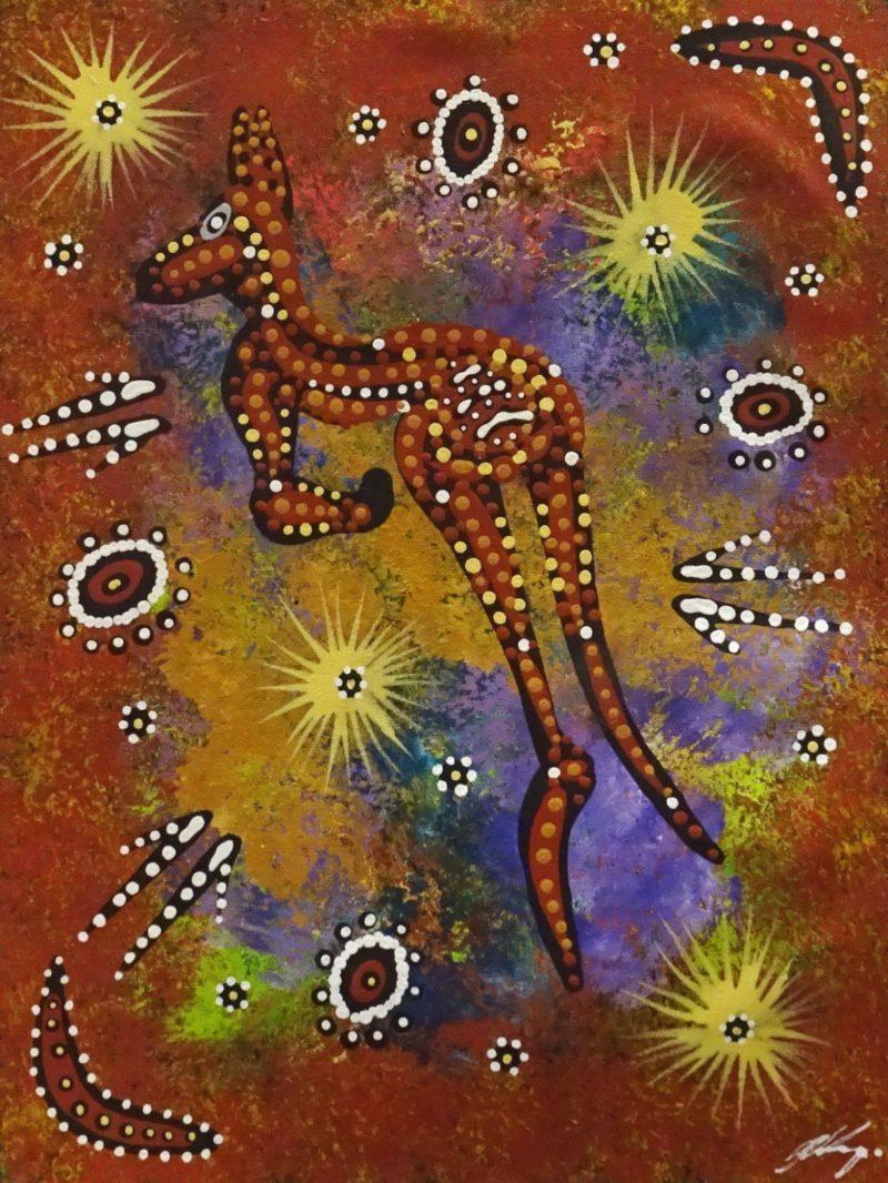 Justin Ronberg Jappurrula Aboriginal Art