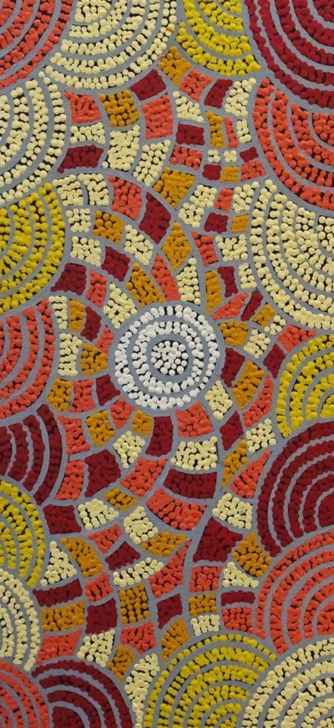 Lissandra Campbell Naparrula Aboriginal Art
