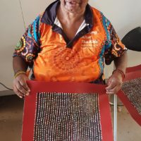 Mandy Marshall Nakamarra Aboriginal Art
