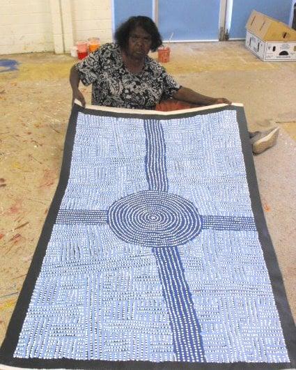 Bambatu Napangardi Aboriginal Art