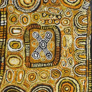 Maisie Campbell Napaltjarri Aboriginal Art