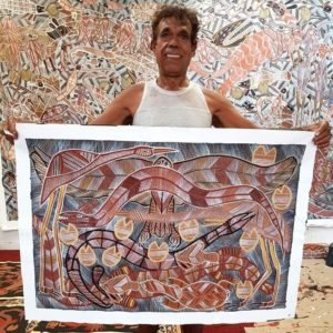 Eddie Blitner Creatures of the Dreamtime (A14282) SMILING