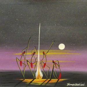 Tommy Crow Aboriginal Art