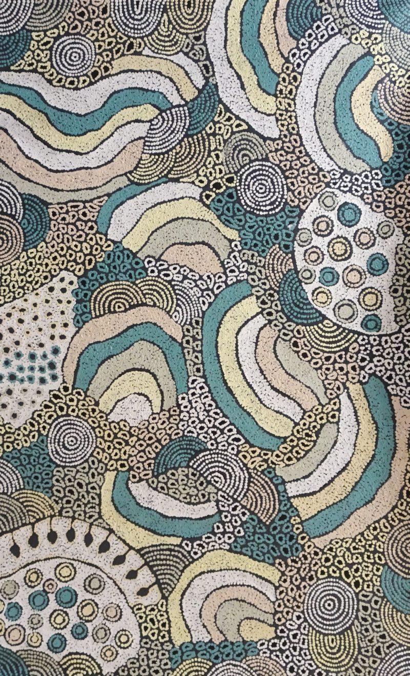 Nellie Marks Nakamarra Aboriginal Art