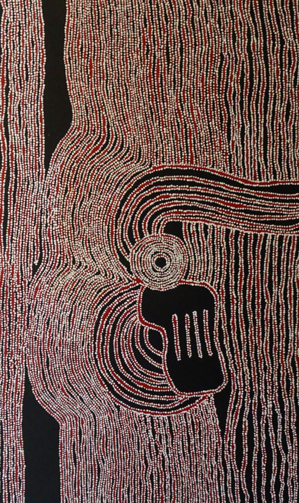 Jillian Giles Napanangka Aboriginal Art