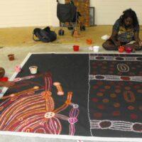Julie Woods and Esmerelda Kulitja Aboriginal Art