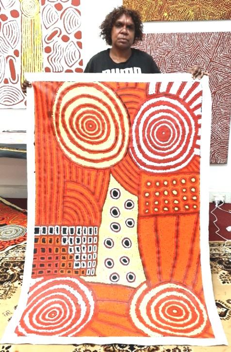Meredith Daniels Napaltjarri Aboriginal Art