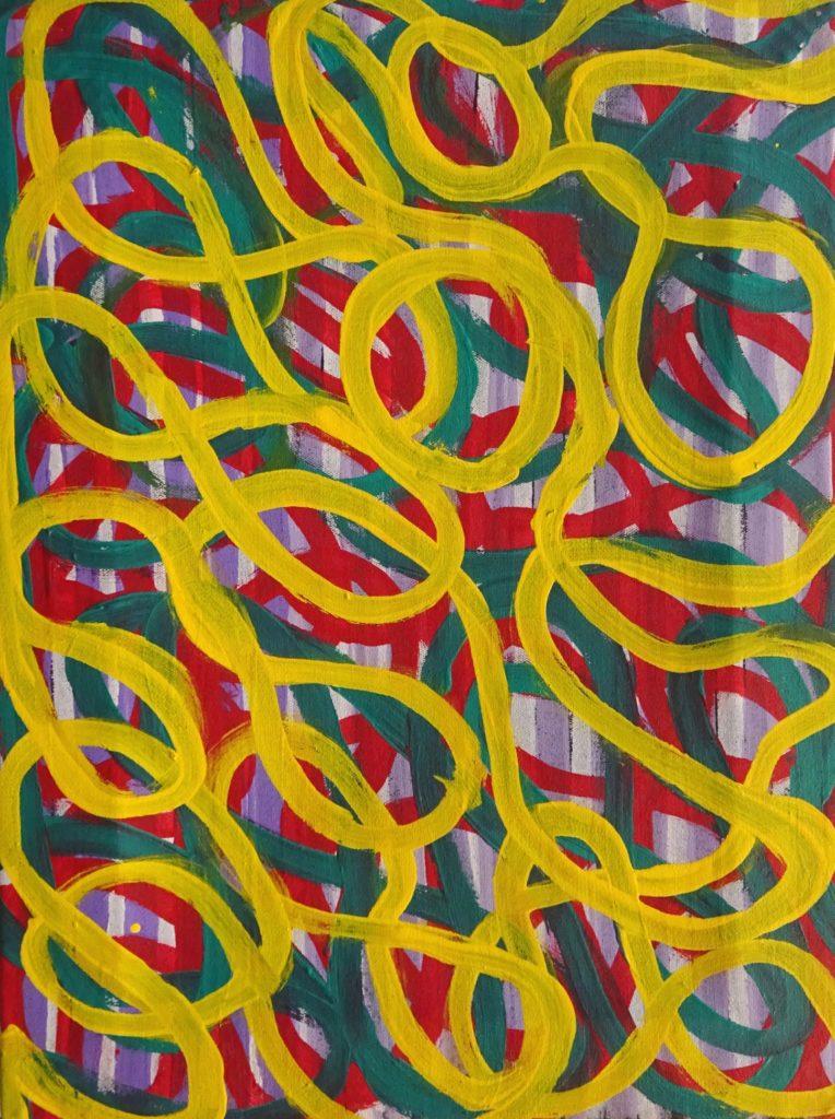 Judy Greeny Kngwarreye Aboriginal Art