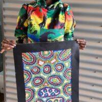 Michelle Butler Nakamarra Aboriginal Art