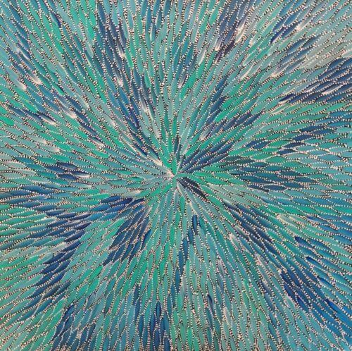 Bernadine Johnson Kemarre Aboriginal Art