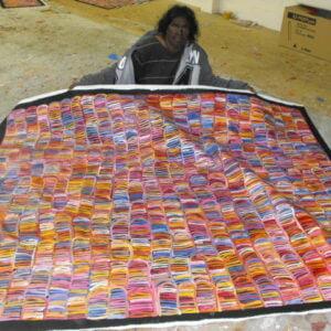 Betty Mbitjana Aboriginal Art