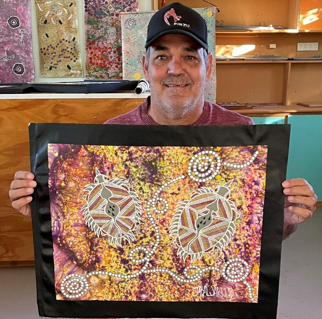 Steven Jabaljarri Sutton Aboriginal Art