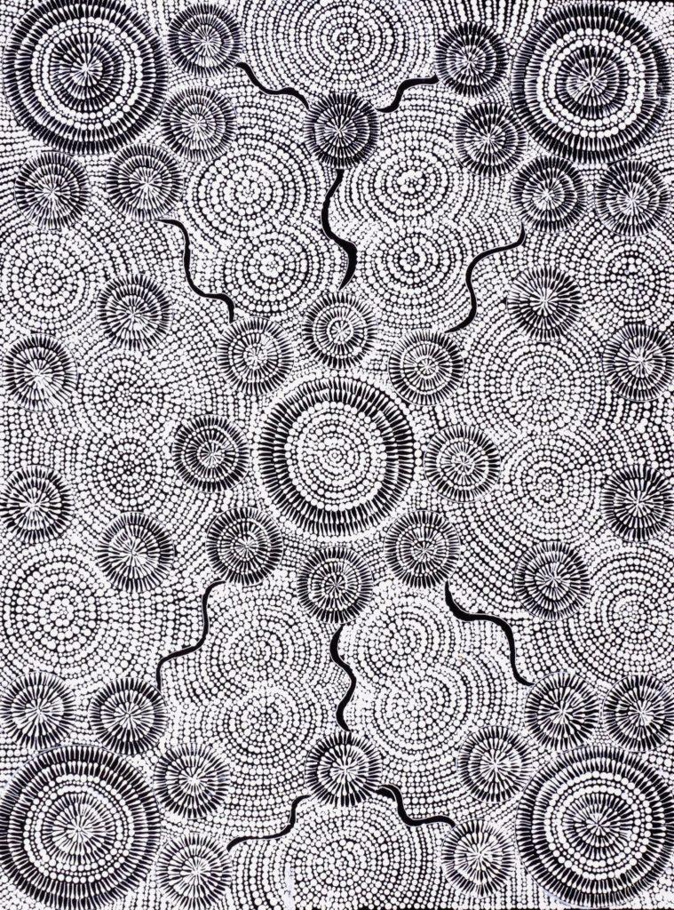 Doreen Nolan Nangala Aboriginal Art