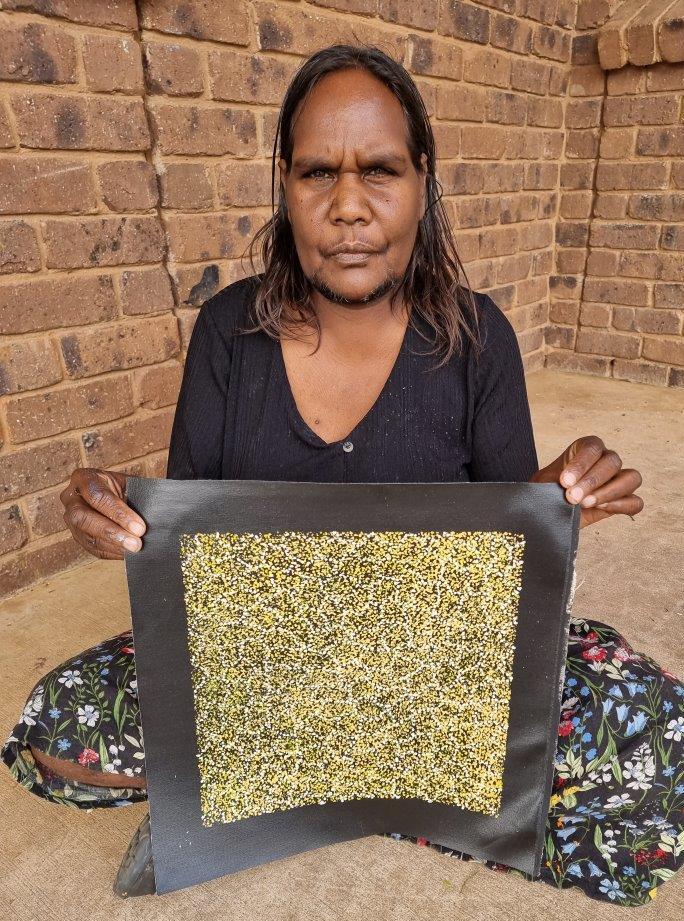 Cindy Morton Pwerle Aboriginal Art